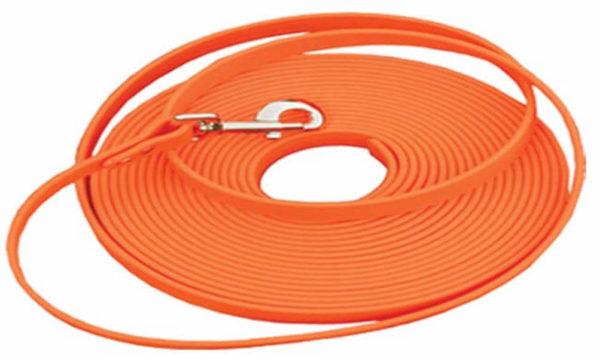 Duro soft check lead cord 30' - orange